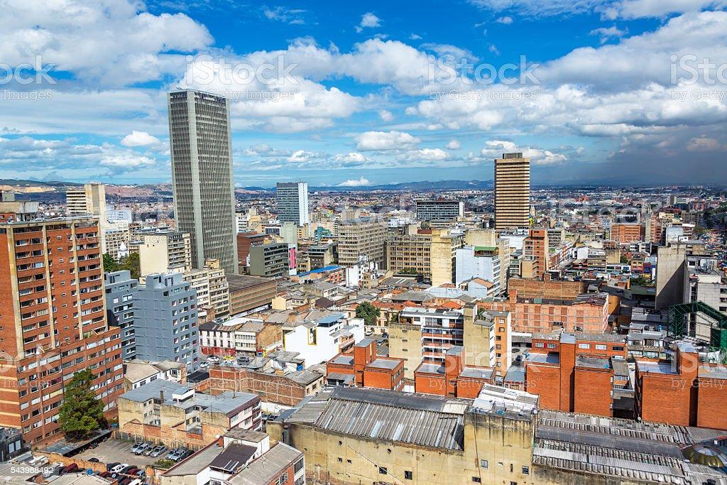 Bogota, Colombia Cityscape stock photo