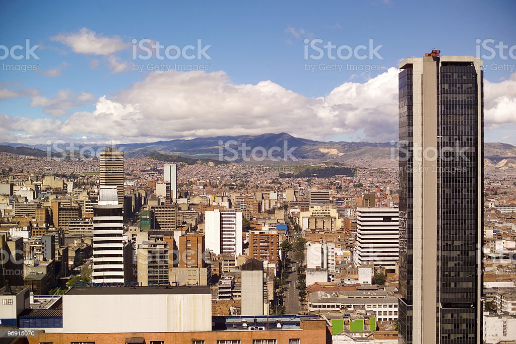 Bogota Colombia royalty-free stock photo