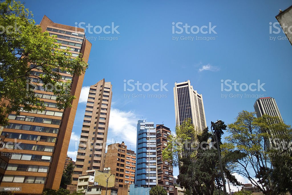 bogota Colombia royalty-free stock photo