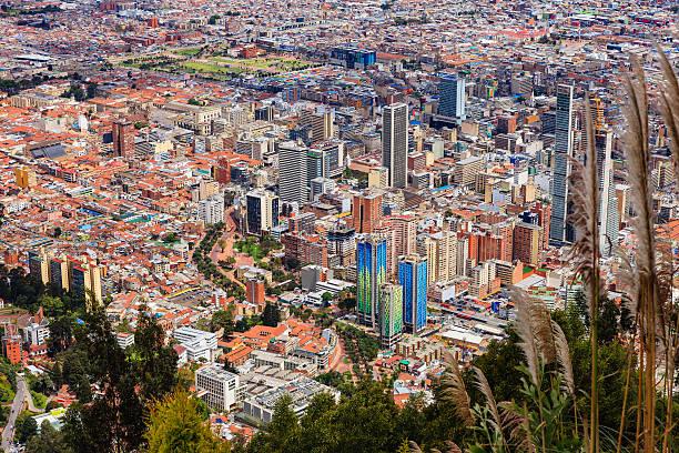Bogota, Kolumbien – Blick auf Hauptstadt der Innenstadt von Monserrate – Foto