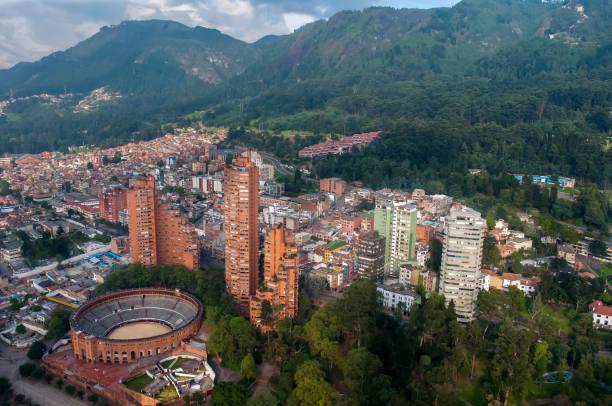 Bogota aus der Luft. Kolumbien. – Foto