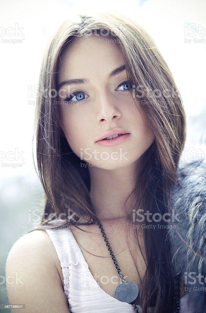 Bohemian Beauty stock photo