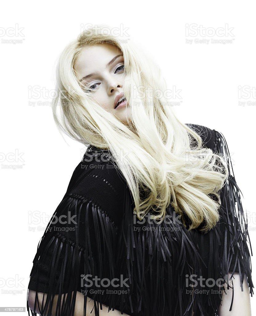Bohemian Beauty royalty-free stock photo