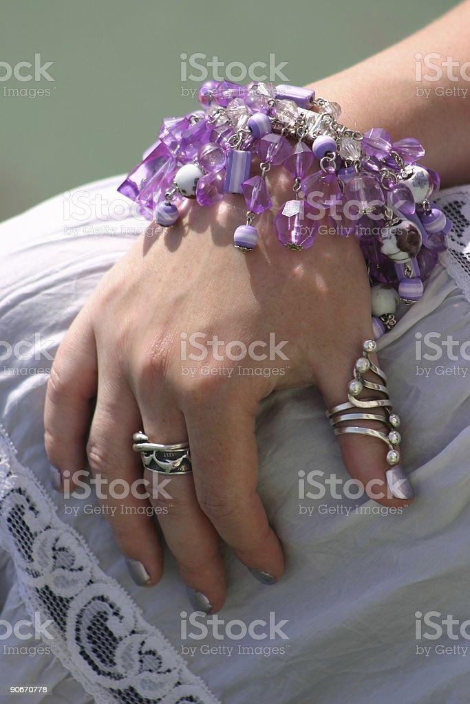 Bohemian Hand royalty-free stock photo