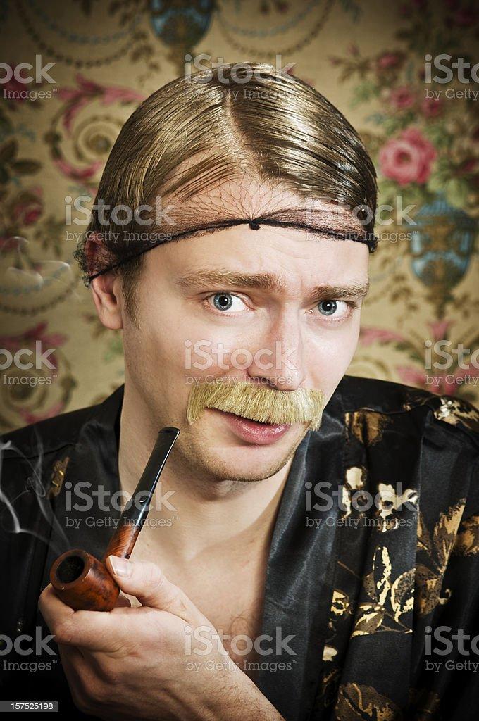 bohemian sir royalty-free stock photo