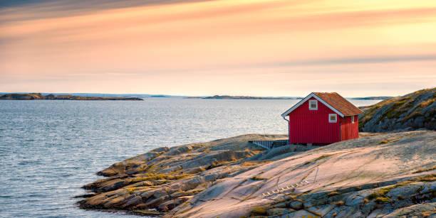 bohuslan krajobraz - szwecja zdjęcia i obrazy z banku zdjęć