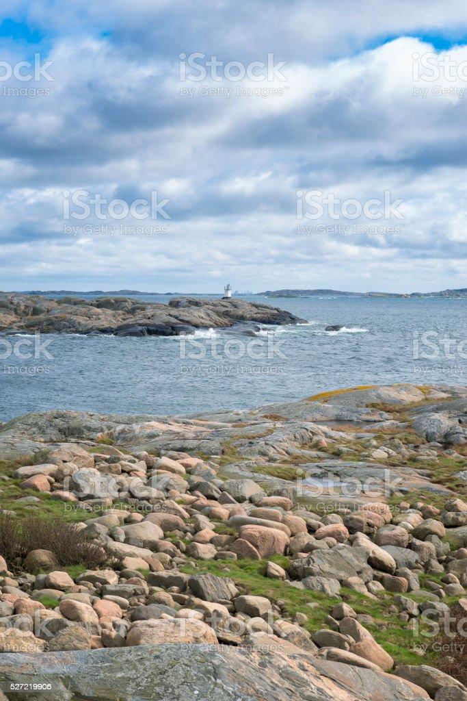 Bohuslan landscape stock photo