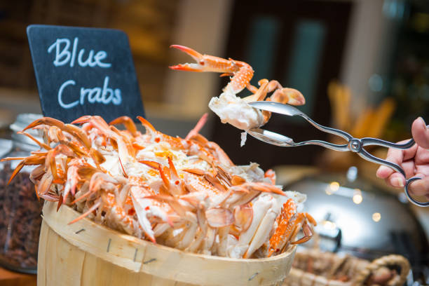 Crab Buffet Eat To Your Crab S Content: Best Blue Crab Stock Photos, Pictures & Royalty-Free