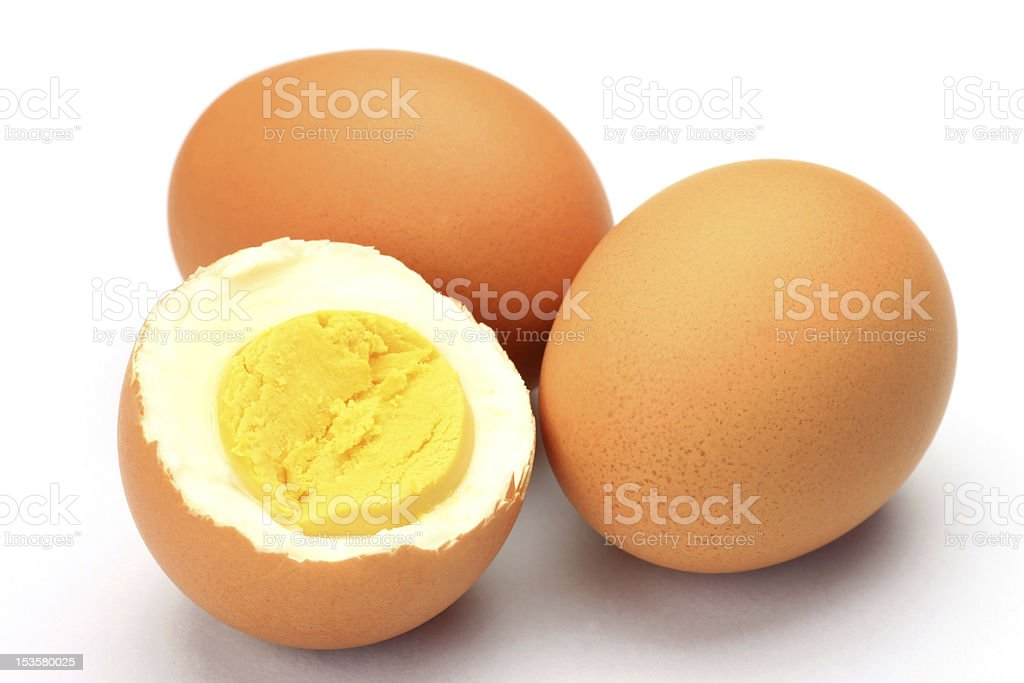 boiled egg royalty-free stock photo