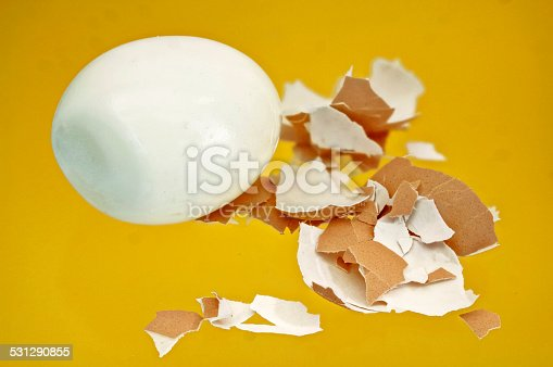 istock boiled egg with shell pieces 531290855