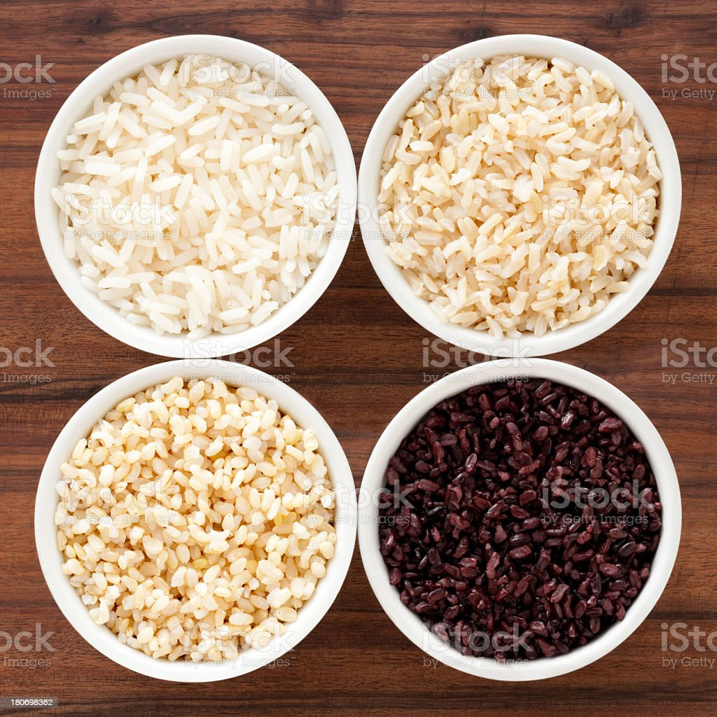 Boiled rice royalty-free stock photo