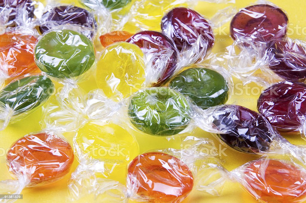 Boiled Sweets royalty-free stock photo