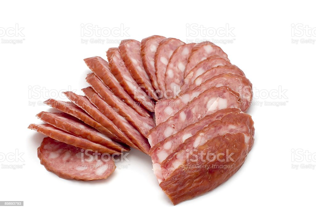 boiled wurst royalty-free stock photo
