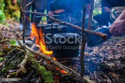 Activity, Cooking, Fire - Natural Phenomenon, Fireplace, Flame