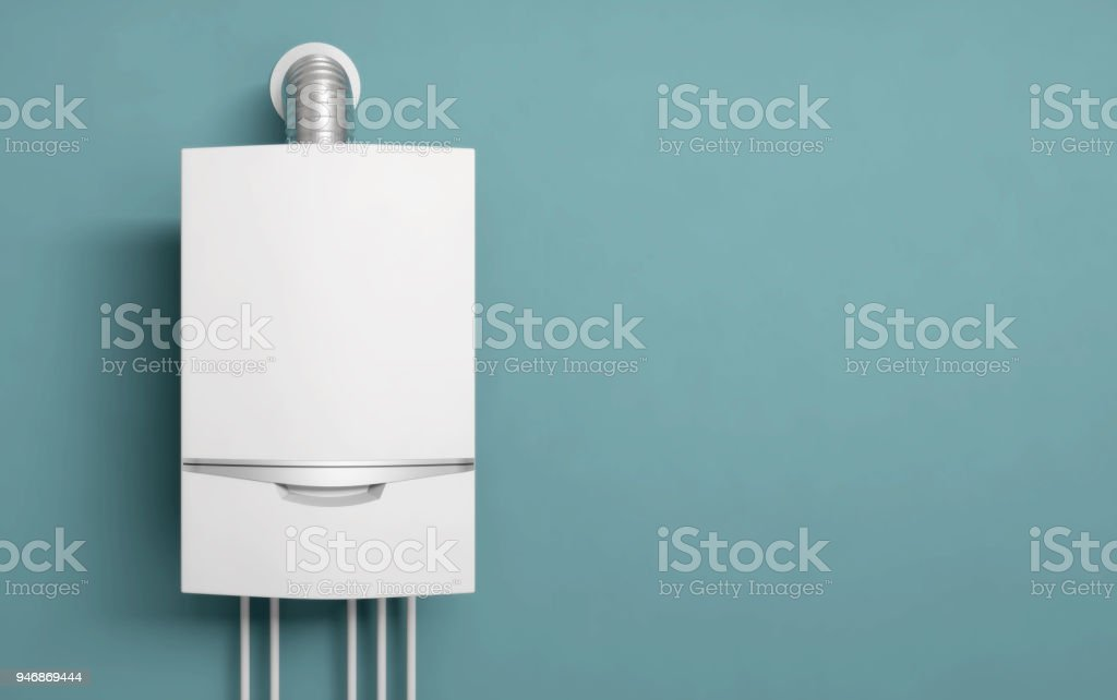 boiler gas heater water stock photo