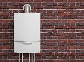 boiler gas heater water 3D