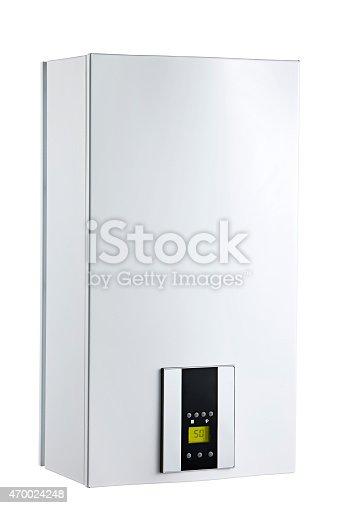 istock boiler on white background 470024248