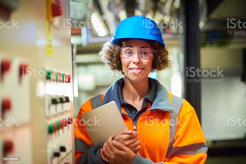 boiler room engineer Lizenzfreies stock-foto