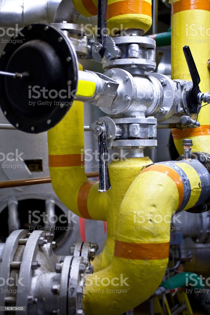 boiler room royalty-free stock photo