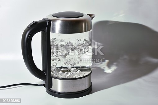 istock Boiling glass teapot 927355380