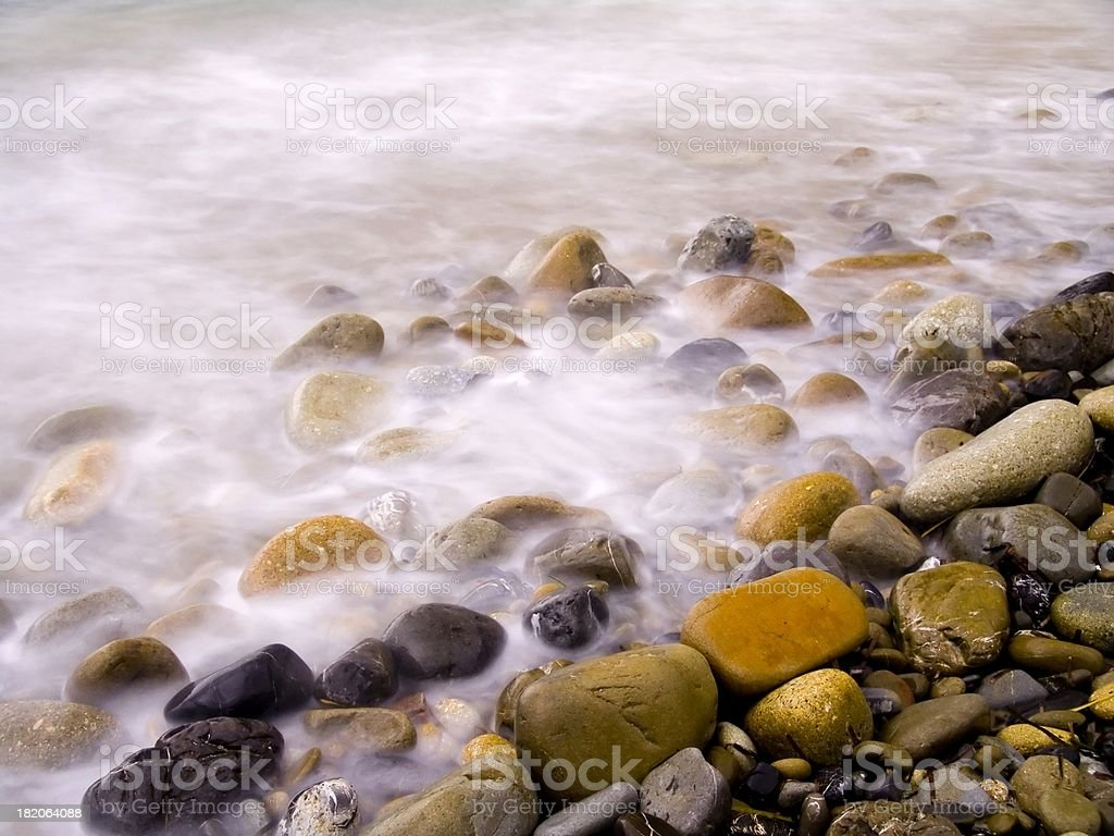 boiling pebbles royalty-free stock photo