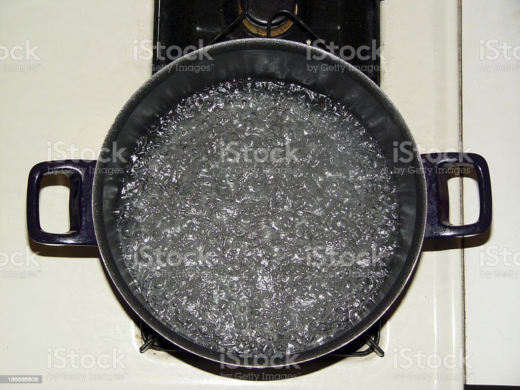 Boiling Water stock photo