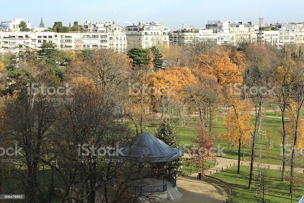 Panorama du bois de Boulogne - Photo