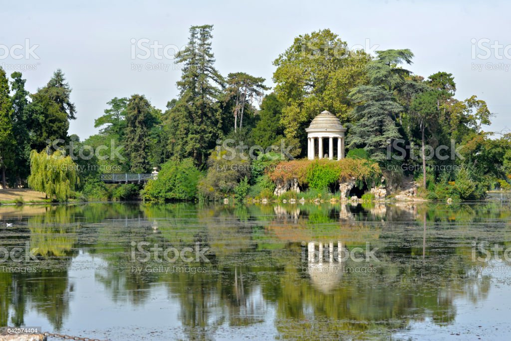 Bois de Vincennes, Paris stock photo