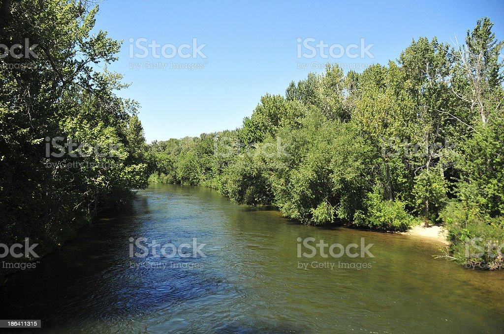 Boise, Idaho: Greenbelt stock photo