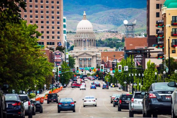Boise, Idaho stock photo
