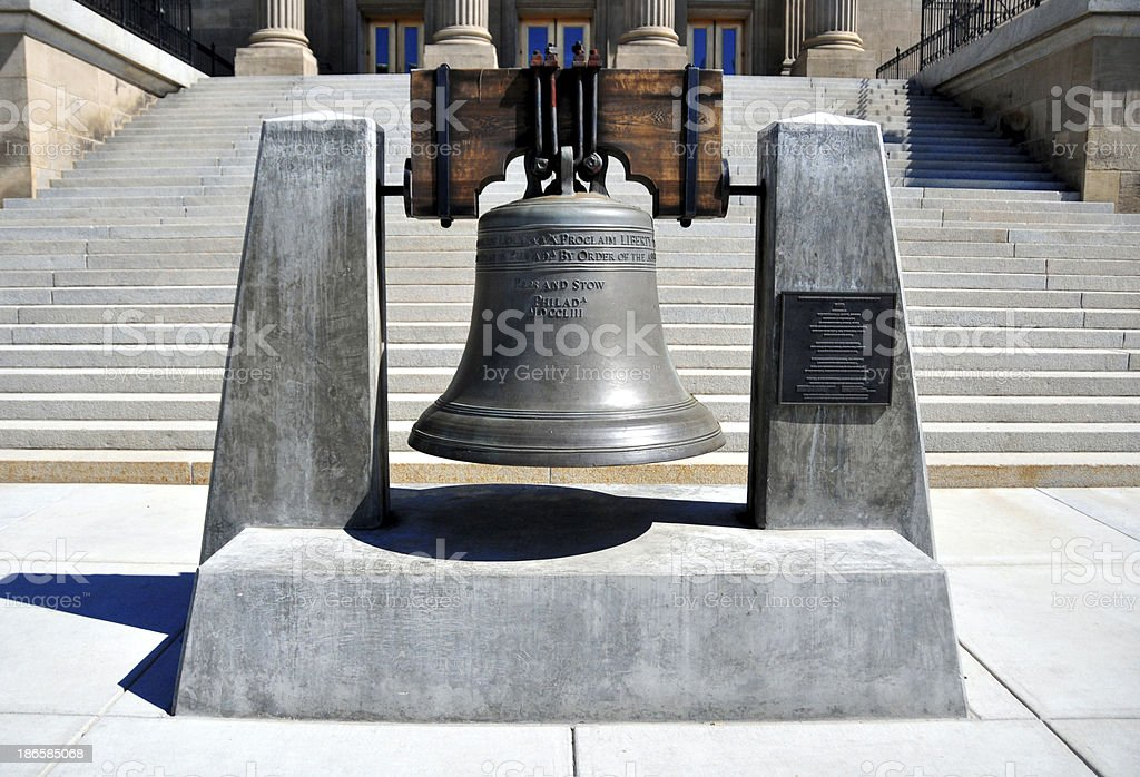 Boise, Idaho, USA: Liberty bell stock photo