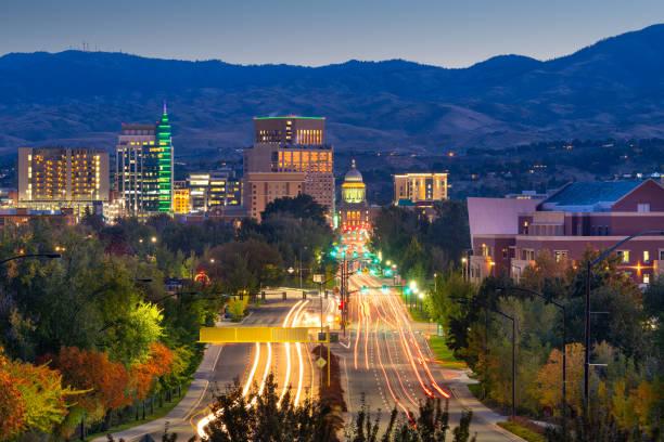 Boise, Idaho, USA stock photo