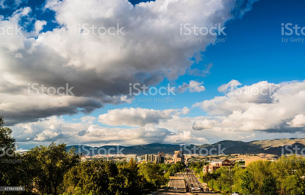 Boise skyline stock photo