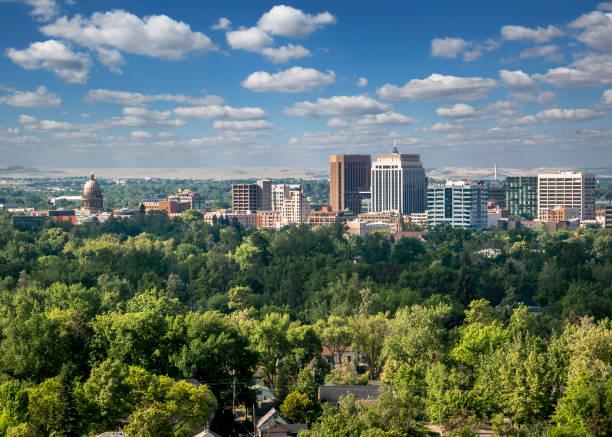 Boise - die Stadt der Bäume – Foto