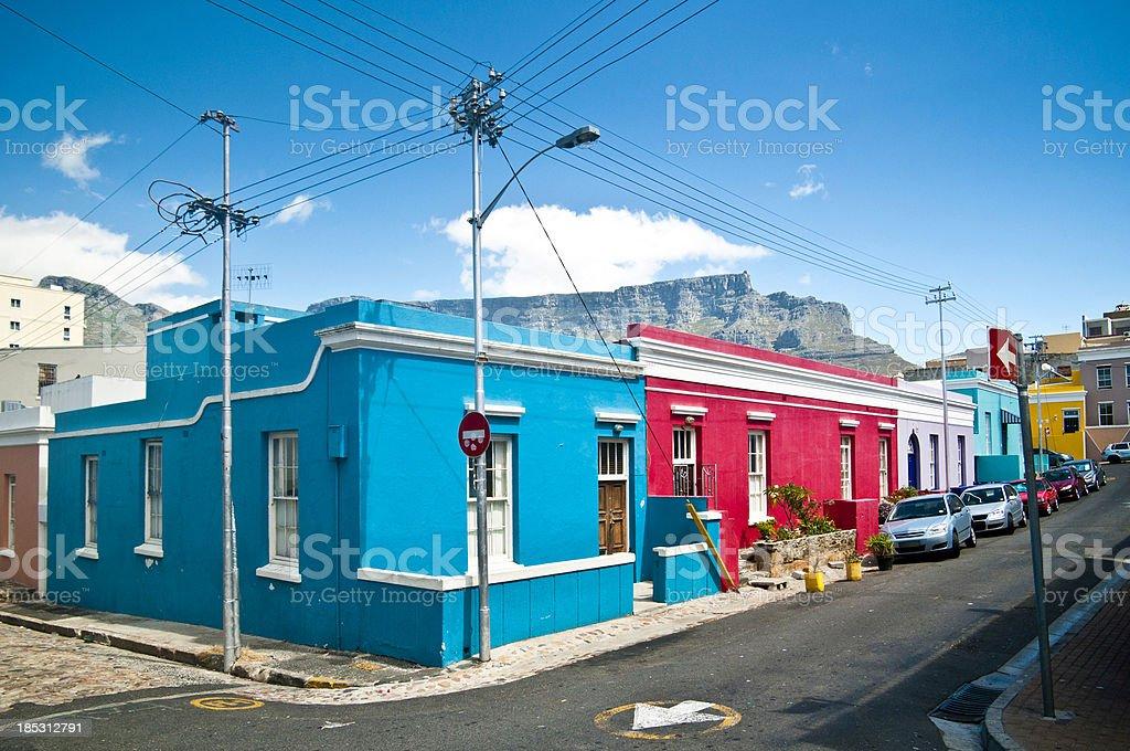Bo-Kaap Cape Town stock photo