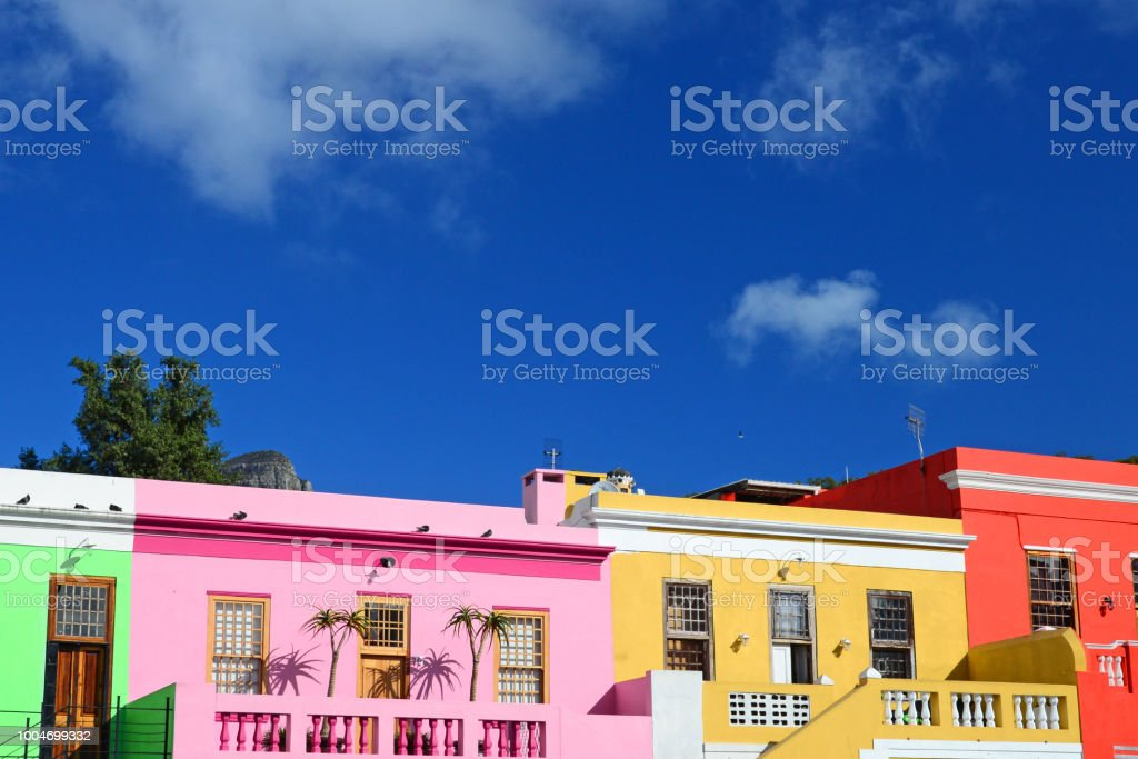 Bo-Kaap, Cape Town, South Africa stock photo