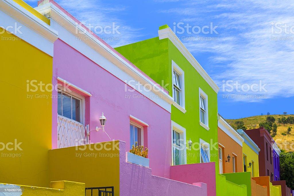 Bo-Kaap Malay Quarter, Cape Town stock photo