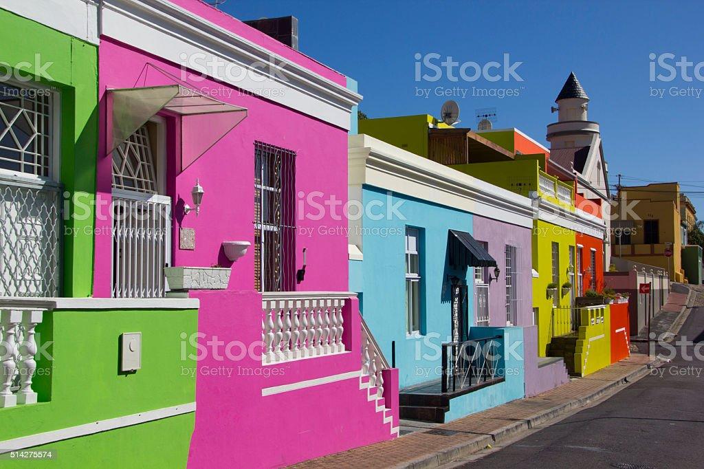 Bo-Kaap stock photo