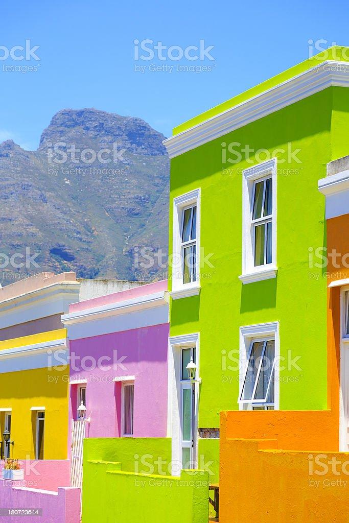 Bo-Kaap Township, Cape Town stock photo