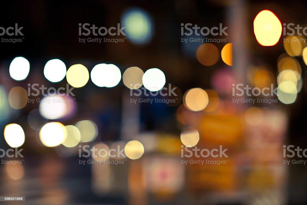Bokeh 1 Lizenzfreies stock-foto