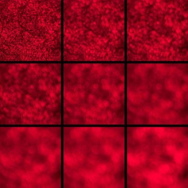 Efecto Bokeh. Un juego de luz de enfoque círculos. - foto de stock