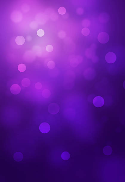 bokeh abstract backgrounds Violet bokeh abstract glow light backgrounds lilac stock pictures, royalty-free photos & images