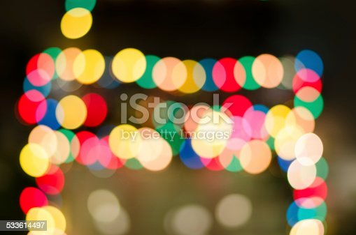 123458999 istock photo Bokeh. Abstract blurred light background 533614497