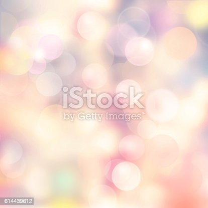524700656 istock photo Bokeh abstract light background. 614439612