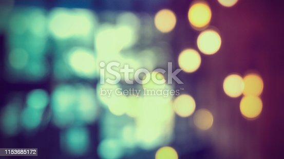 istock Bokeh Background Cafe interior 1153685172