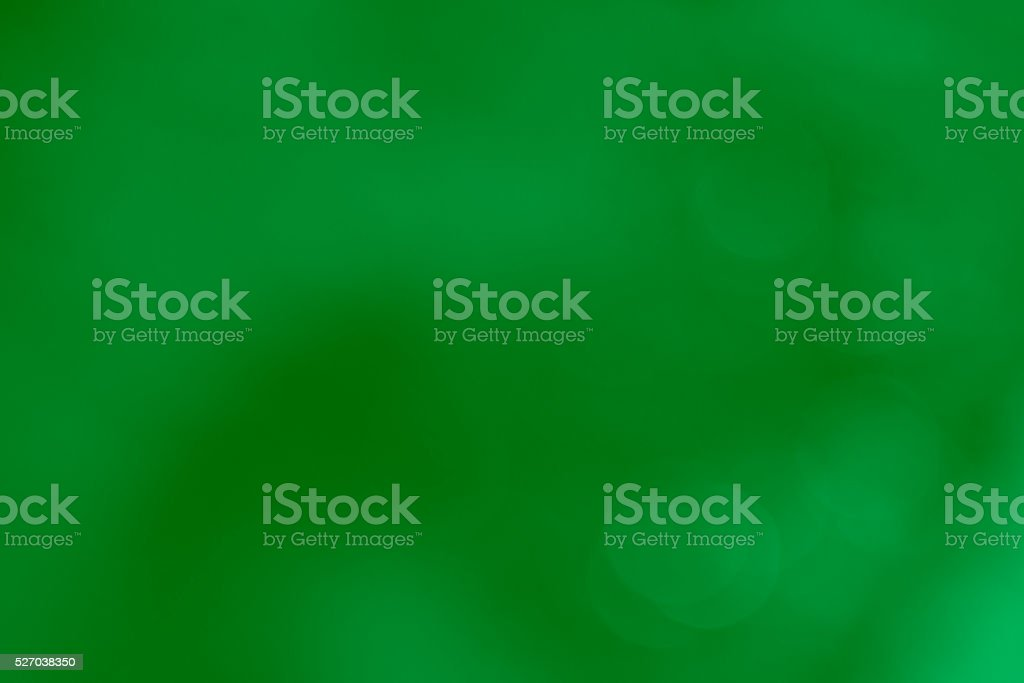 bokeh background in the green theme stock photo