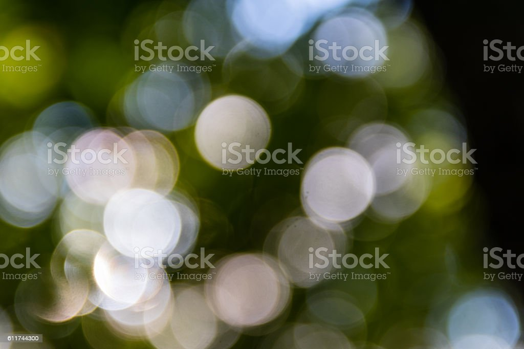 Bokeh background of nature stock photo
