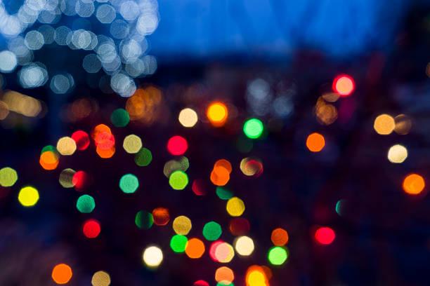 bokeh balls of light - geçit töreni stok fotoğraflar ve resimler