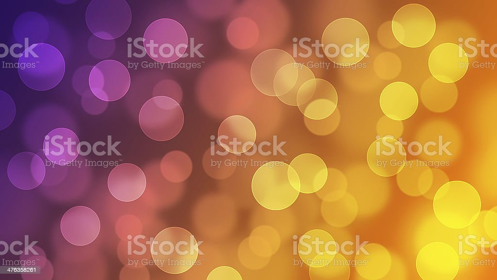 Bokeh bright and colorful Bigger HD Ratio stock photo