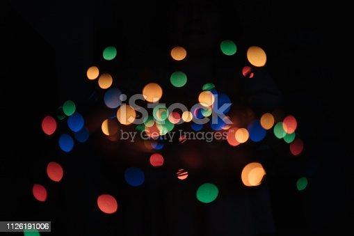 613518332 istock photo Bokeh colorful dot background 1126191006
